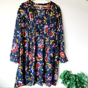 Tunic Floral Dress Size 2X